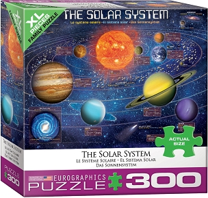 The Solar System - 300 XL Pieces
