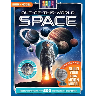 Out-Of-This-World Space Book & Model