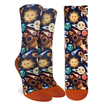 Stars and Steampunk Socks Women's Size 5-9