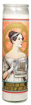 Ada Lovelace Secular Candle