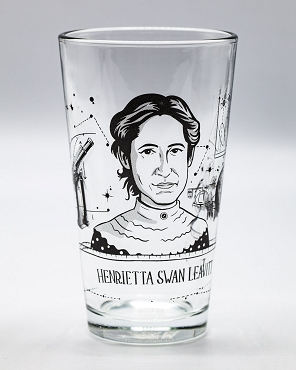 Henrietta Swan Leavitt Pint Glass