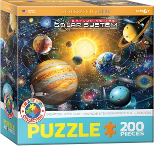 Exploring the Solar System - 200 Piece