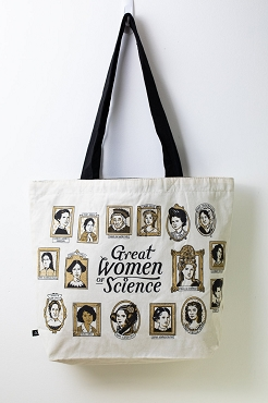 Great Women of Science Shoulder Tote Bag