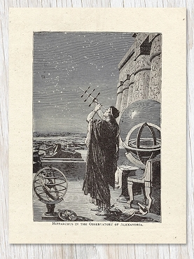 Hipparchus in Alexandria Greeting Card