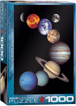NASA The Solar System - 1000 Piece