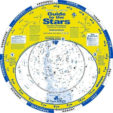A Guide to The Stars Planisphere - Small