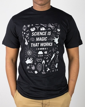 Science Is Magic Adult Tee