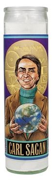 Carl Sagan Secular Candle