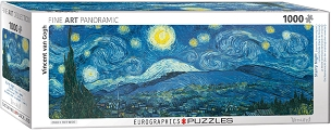 Vincent Van Gogh Starry Nights 1000 Piece - Pano