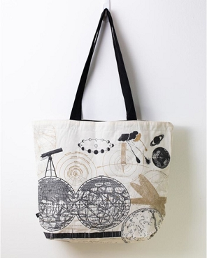 Astronomy Shoulder Tote Bag