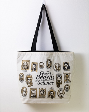 Great Beards of Science Tote Bag