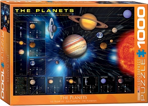 The Planets (Orange Frame) 1000 Piece