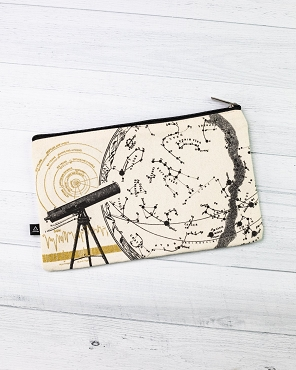 Astronomy Zip Pencil Case