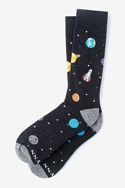 I Need My Space Socks - Adult size 7-13