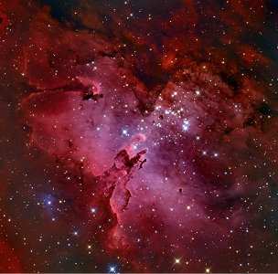 M16 The Eagle Nebula - Astrophotography Print