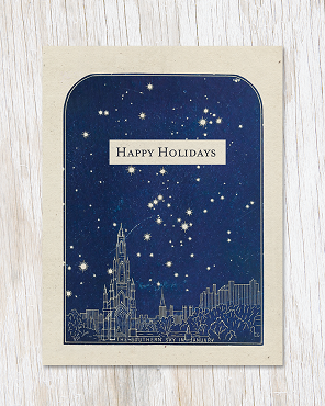Southern Sky: Happy Holidays Greeting Card